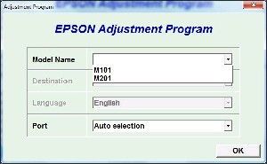 Adjustment Program Epson M100 Ver.1.0.8